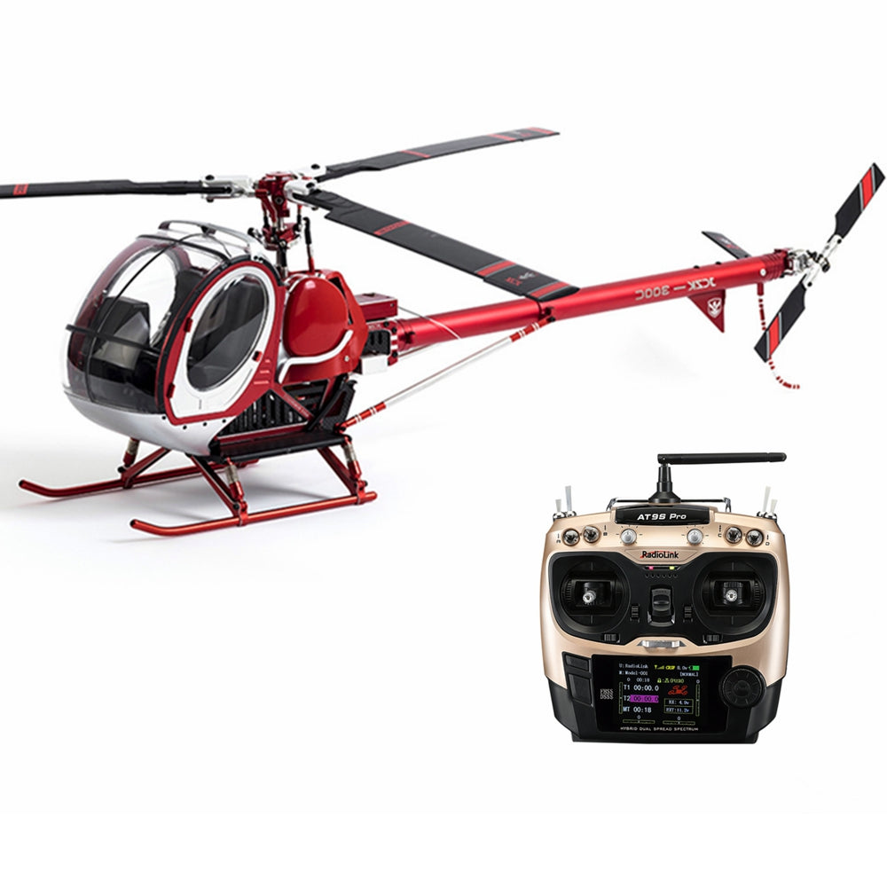 JCZK 300C 470L DFC 6CH 3D Three Blade Rotor TBR Scale RC Helicopter RTF with AT9S PRO Transmitter
