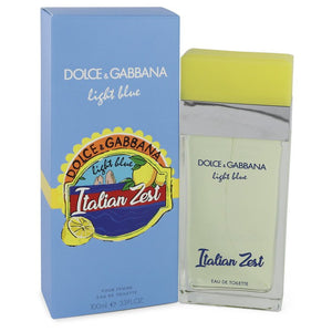 Light Blue Italian Zest Eau De Toilette Spray (unboxed) By Dolce & Gabbana