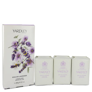 English Lavender 3 x 3.5 oz Soap By Yardley London