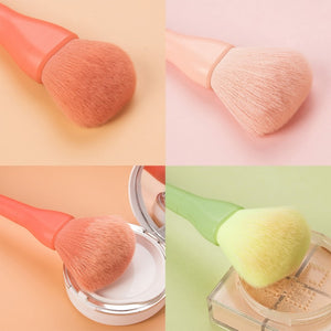 10PCS Colorful Small Fresh Candy Makeup Brushes Set Powder Eye Shadow Foundation make up Blush Blending Maquiagem Cosmetic Tool