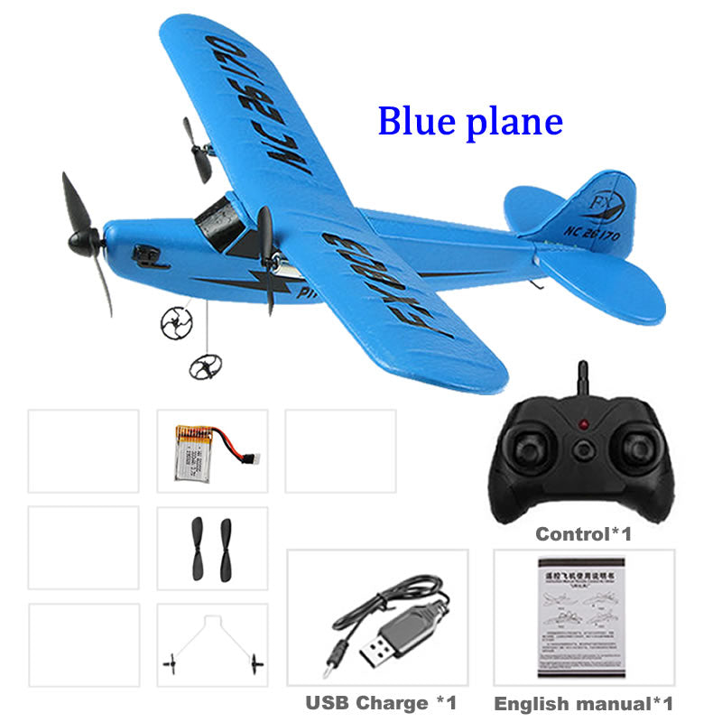 RC Electric Airplane Remote Control Plane RTF Kit EPP Foam 2.4G controller 150 Meters Flying Distance Aircraft Global Hot Toy