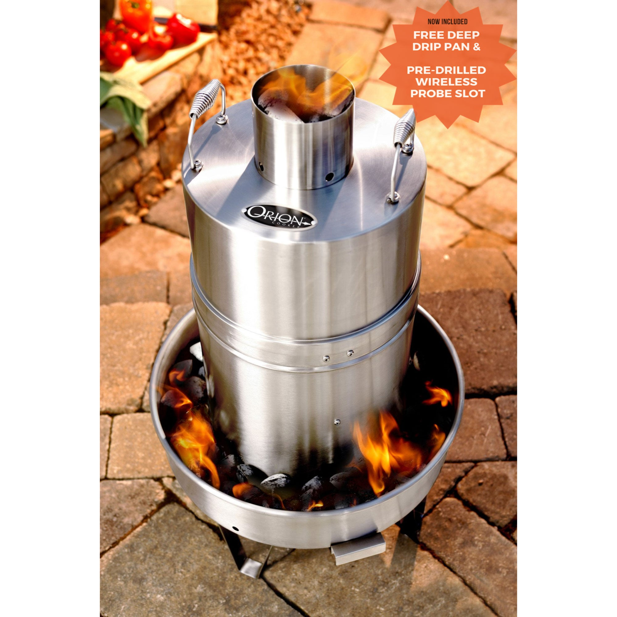 The Orion Cooker Outdoor Convection Cooker