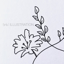 "Load image into Gallery viewer, Art Print ""One with Nature"" - tinkl ILLUSTRATION"