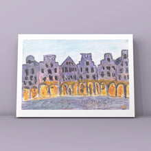 "Load image into Gallery viewer, Art Print ""Prinzipalmarkt Münster"" - tinkl ILLUSTRATION"