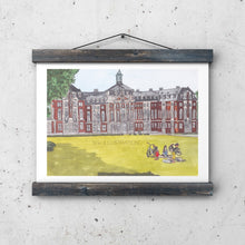 "Load image into Gallery viewer, Art Print ""Westfälische Wilhelms-Universität Münster"" - tinkl ILLUSTRATION"