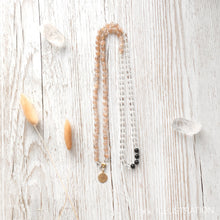 "Load image into Gallery viewer, Mala Necklace ""Be You"" - tinkl ILLUSTRATION"