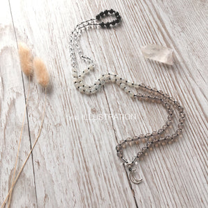"Mala Necklace ""Grounded in Me"" - tinkl ILLUSTRATION"