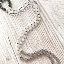 "Load image into Gallery viewer, Mala Necklace ""Grounded in Me"" - tinkl ILLUSTRATION"