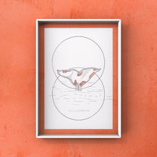 "Load image into Gallery viewer, Original Artwork ""I Belong to the Ocean"" - tinkl ILLUSTRATION"