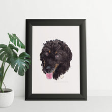 Load image into Gallery viewer, Watercolour Dog Portrait - tinkl ILLUSTRATION