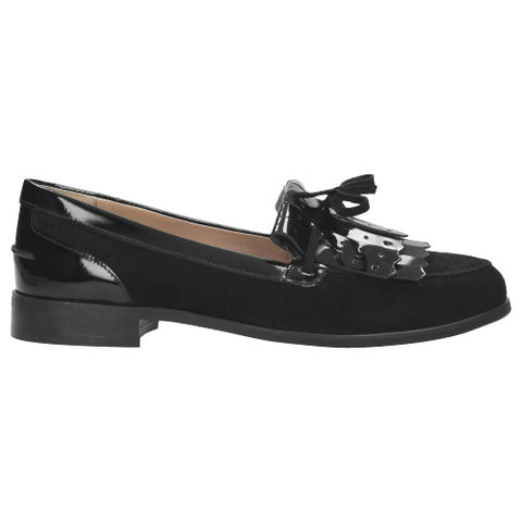 Black Leather Loafers | 941171