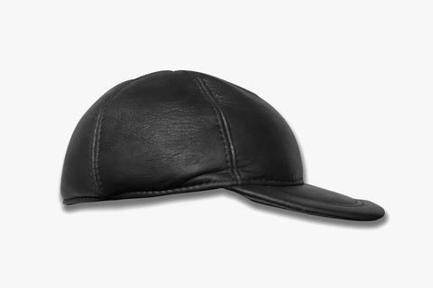Old-school Leather Cap | CP02