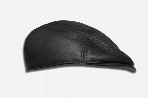 Old-school Leather Driving Cap | CP01