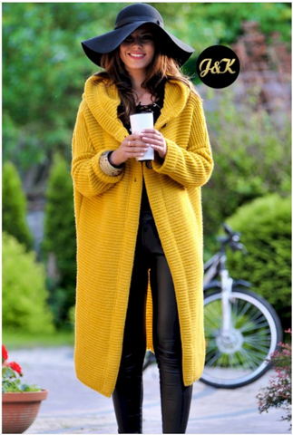 Honey Hooded Cardigan | HONEY