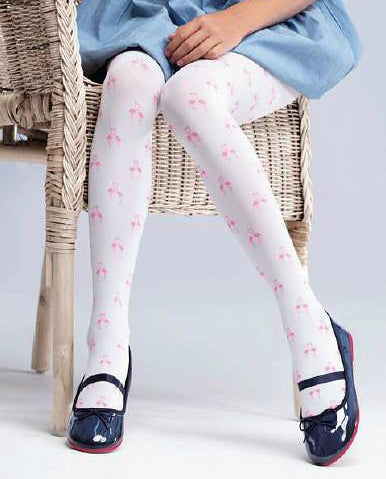 White 20 Denier Tights | RA-76 MF