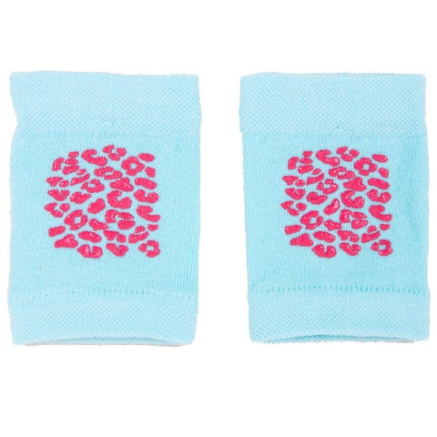 Mint and Pink Baby Crawling Knee Pads ABS | NA-02-Mi