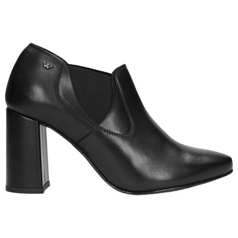 Black Leather Pumps | 949751