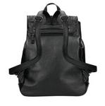 Black Leather Backpack | 8007351