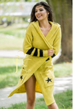 Yellow Hooded Cardigan | STYLE NEW