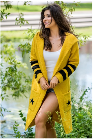 Honey Hooded Cardigan | STYLE NEW