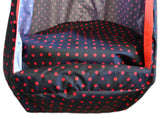 Swing Seat Hammock with Red Dots Pattern | GMG-29
