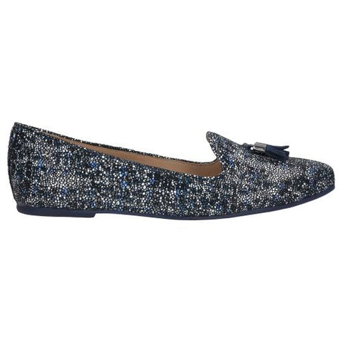 Patterned Leather Ballet Flats | 4500166
