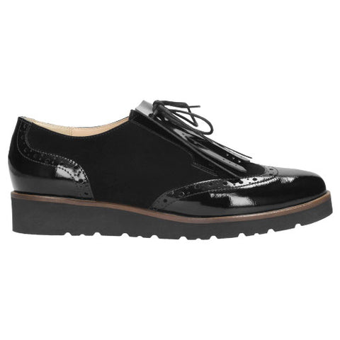 Black Leather Oxfords | 854871