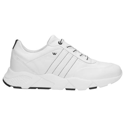 White Leather Sneakers | 4601559