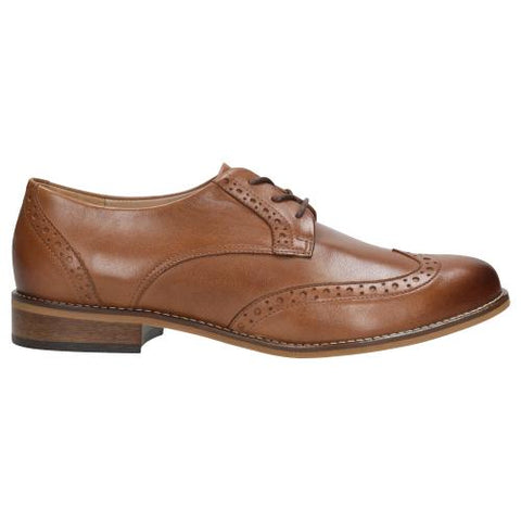 Light Brown Leather Oxfords | 4603353