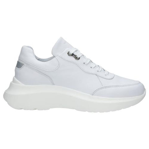 White Leather Sneakers | 4604159