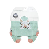 Mint Bunny Print Tights with ABS | RA-25-MI-2