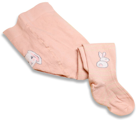 Light Pink Baby Girl Tights | W-01-g