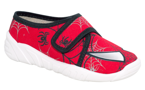 Red Graphic School Slippers | KRZYS-R
