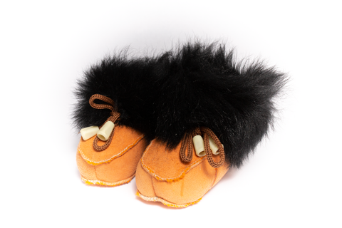 Fluff Genuine Shearling Booties | K-058