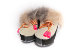 Mini Fluff Genuine Shearling Booties | K-061