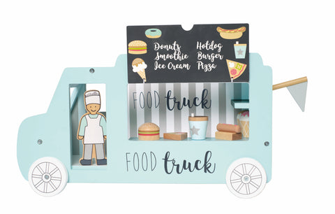 Wooden Toy Food Truck | W7159