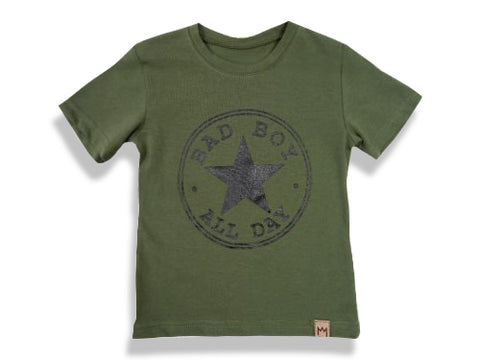 Green Graphic T-shirt | S-08