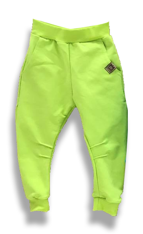 Lime Green Joggers | S-07