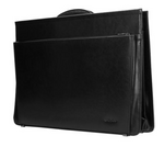Black Leather Briefcase | 9000151
