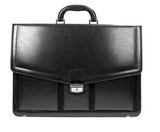 Black Leather Briefcase | 587851