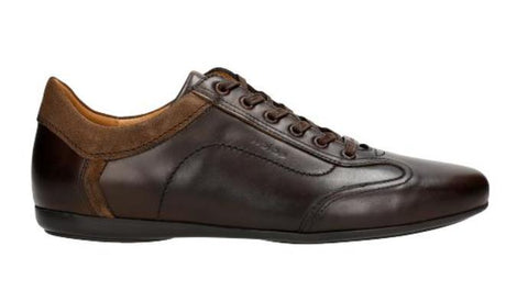 Dark Brown Leather Sneakers | 1002472