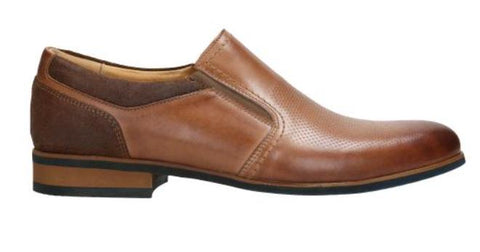 Light Brown Leather Loafers | 1001173