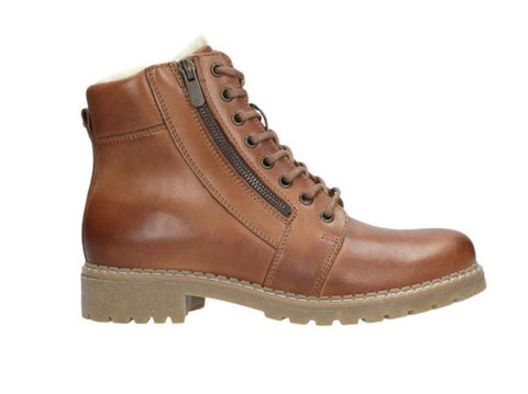 Light Brown Leather Boots | 962853