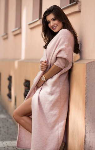Dusty Pink Cardigan | LEA