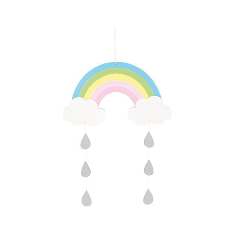 Wooden Rainbow Mobile | K8048