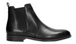 Black Leather Ankle Boots | 2000350