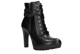 Black Leather Ankle Boots | 6401151