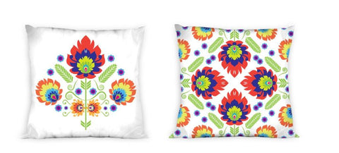 Double-Sided Pillowcase with Multicolor Print | FAR-018