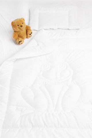 White Children Comforter Set | FAR-001