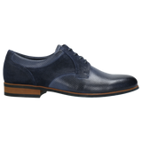 Dark Blue Leather Dress Shoes | 1001076